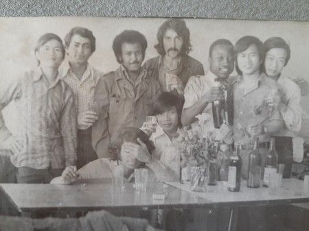 Edwin May Cantillano  second from left - TMURP 1974-1977